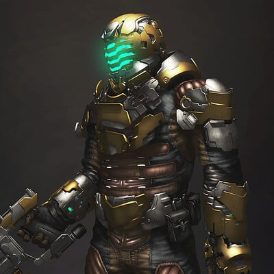 Dead Space - Suit Fanart