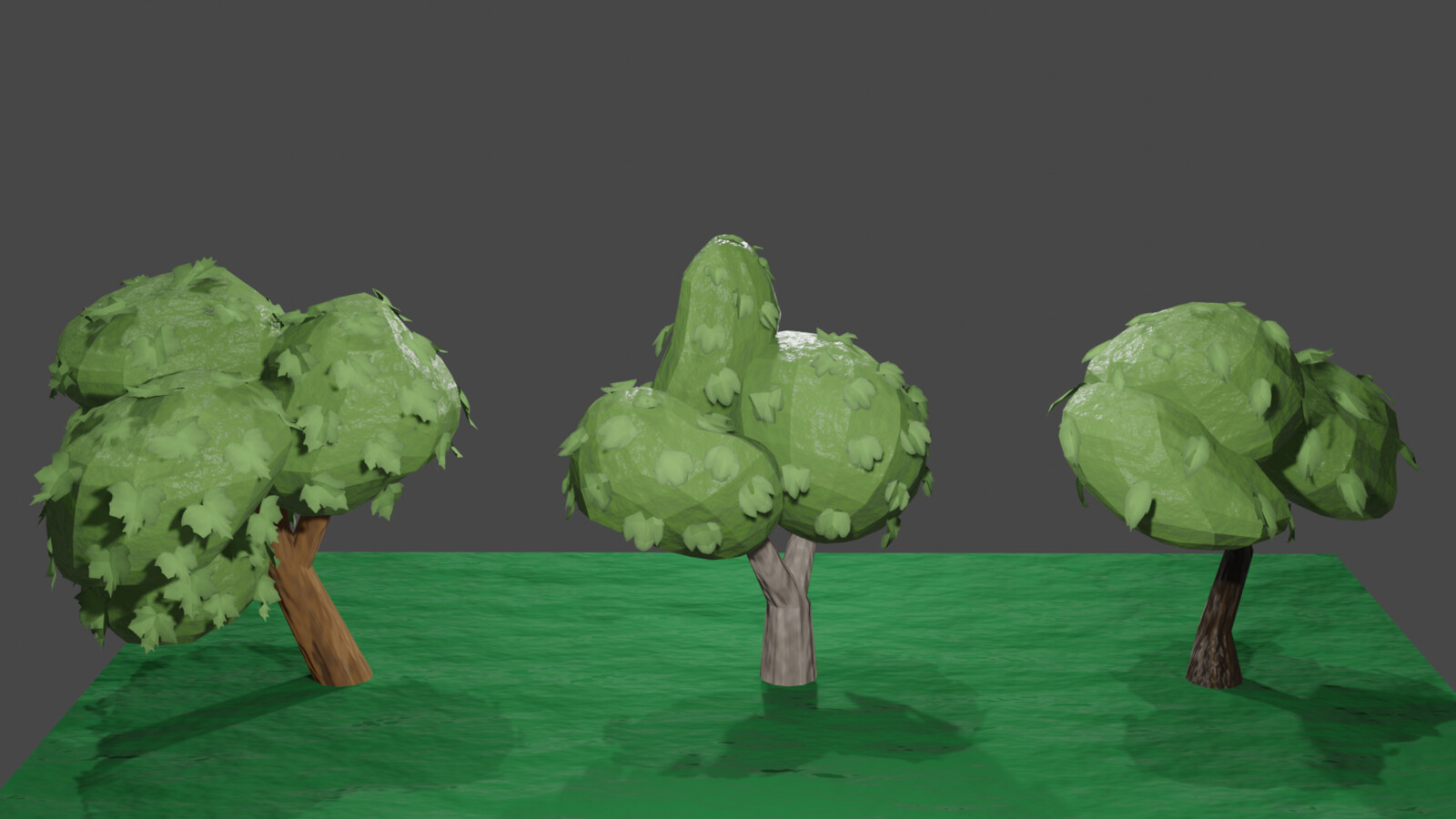 Low Poly Trees Part 1