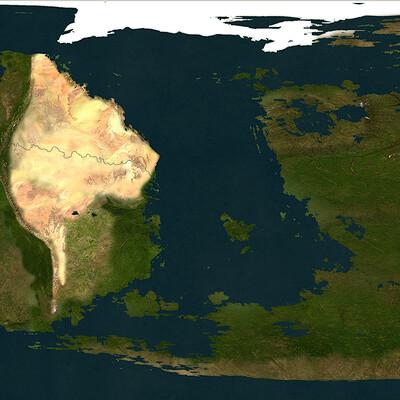 Robert altbauer globe map