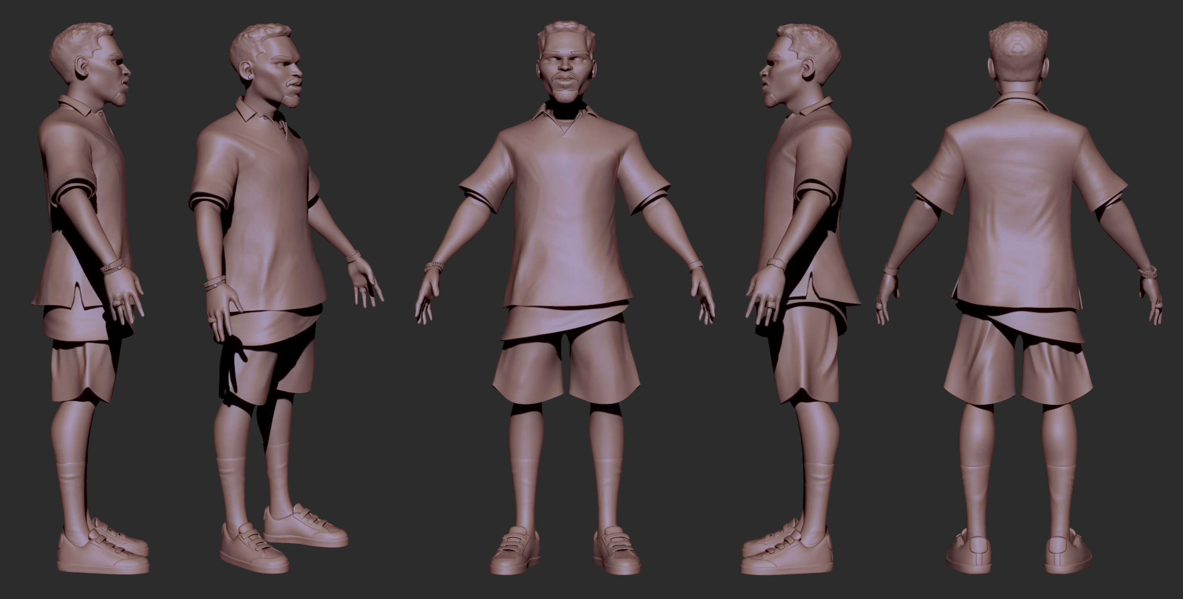 Chris Brown - Sculpt (wip)