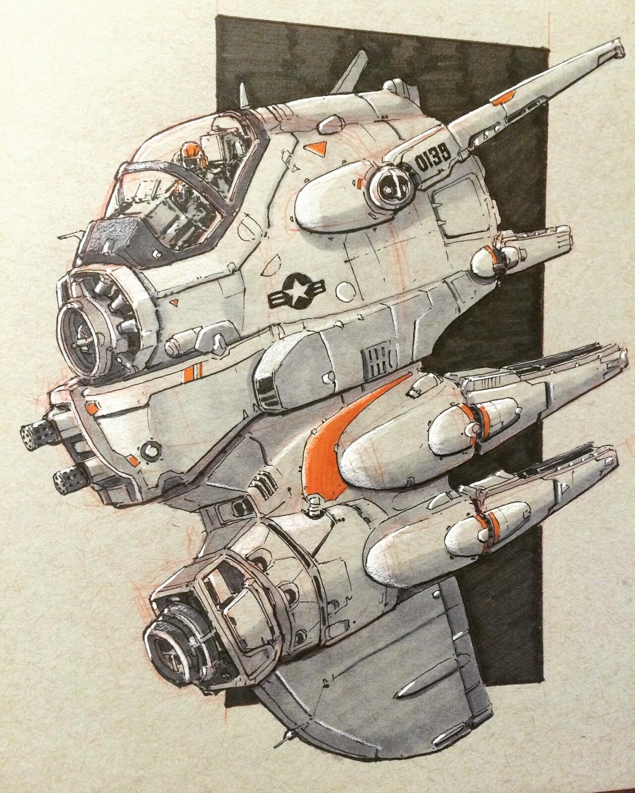 Original Concept Art by Virnard Magpantay