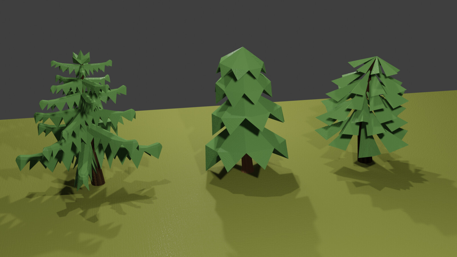 Low Poly Trees Part 2