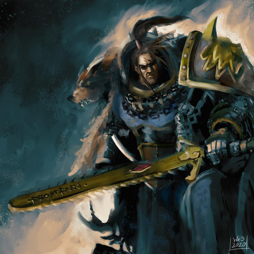 Ragnar Blackmane Fan Art