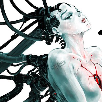Atom cyber deadlife her broken smil