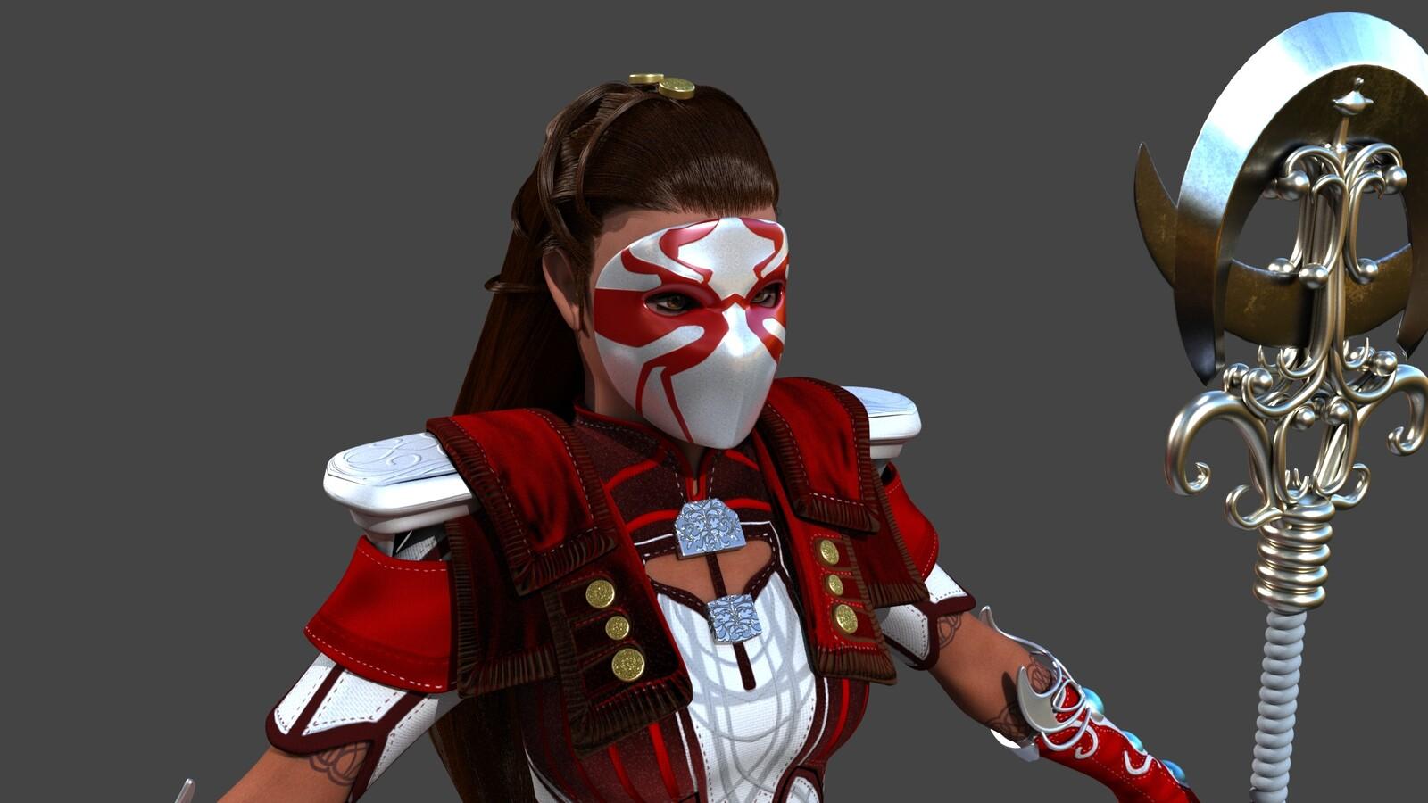 Guild Wars 2 Red Elementalist