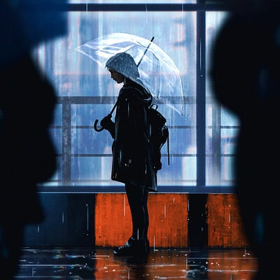 Daily Sketches- Rainy day