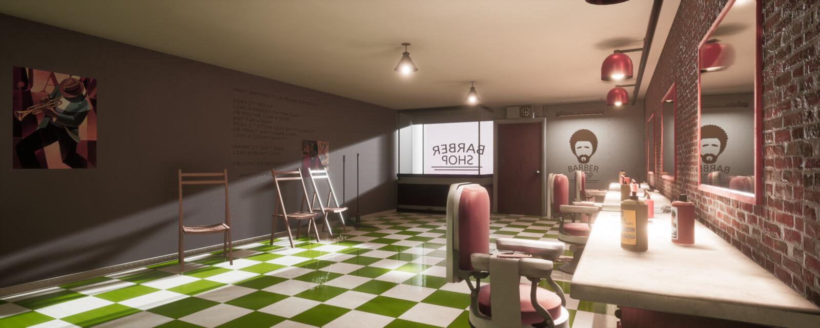 Harlem Barbershop WIP