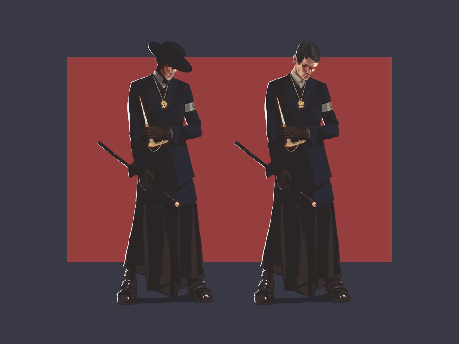 The Black Priest