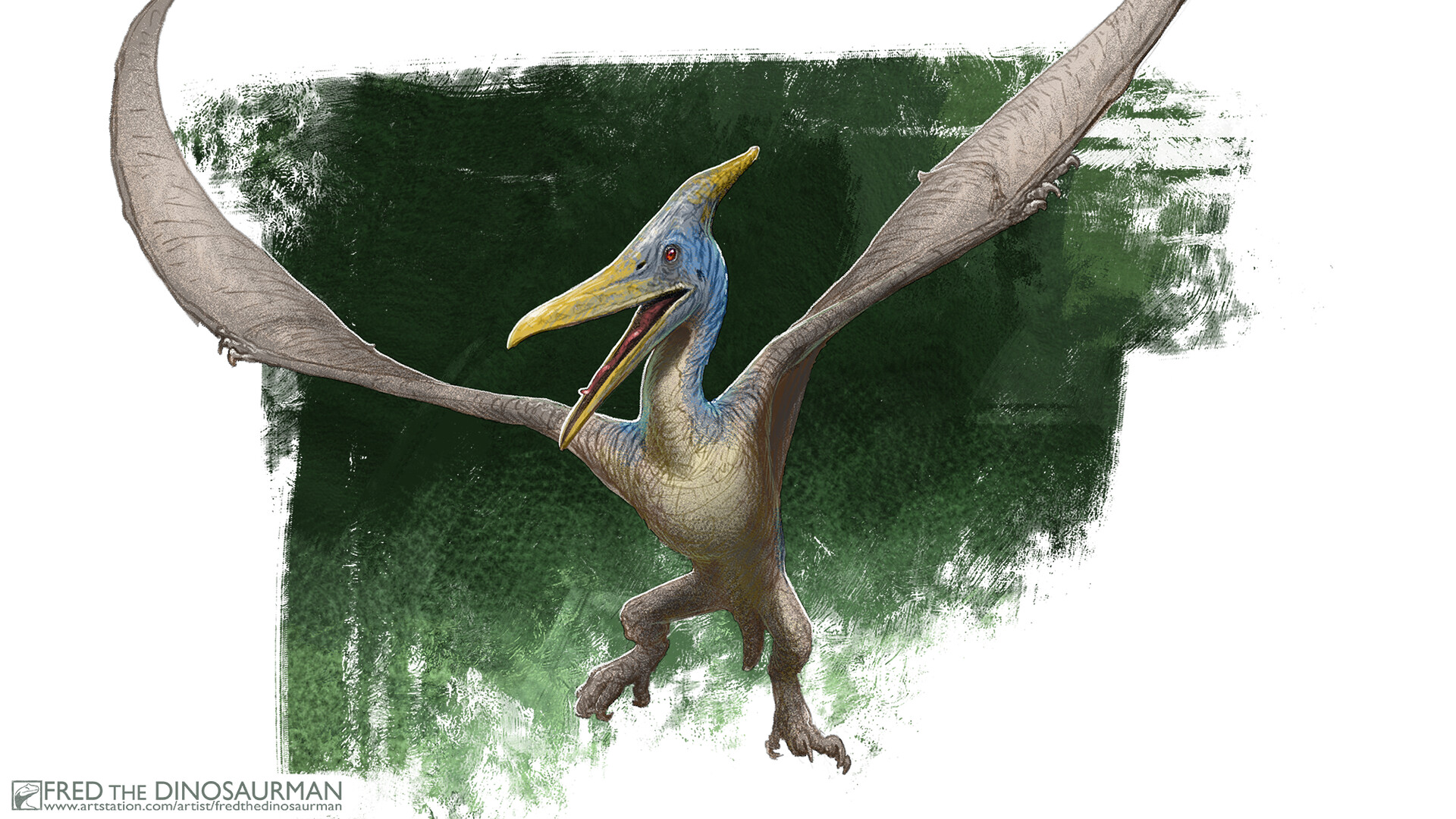 Frederic Wierum The Lost World Jurassic Park Kenner Pteranodon