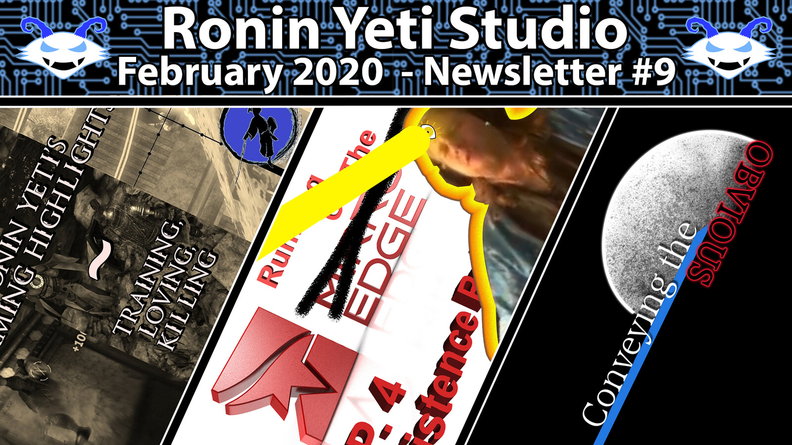 One of the later newsletter thumbnails