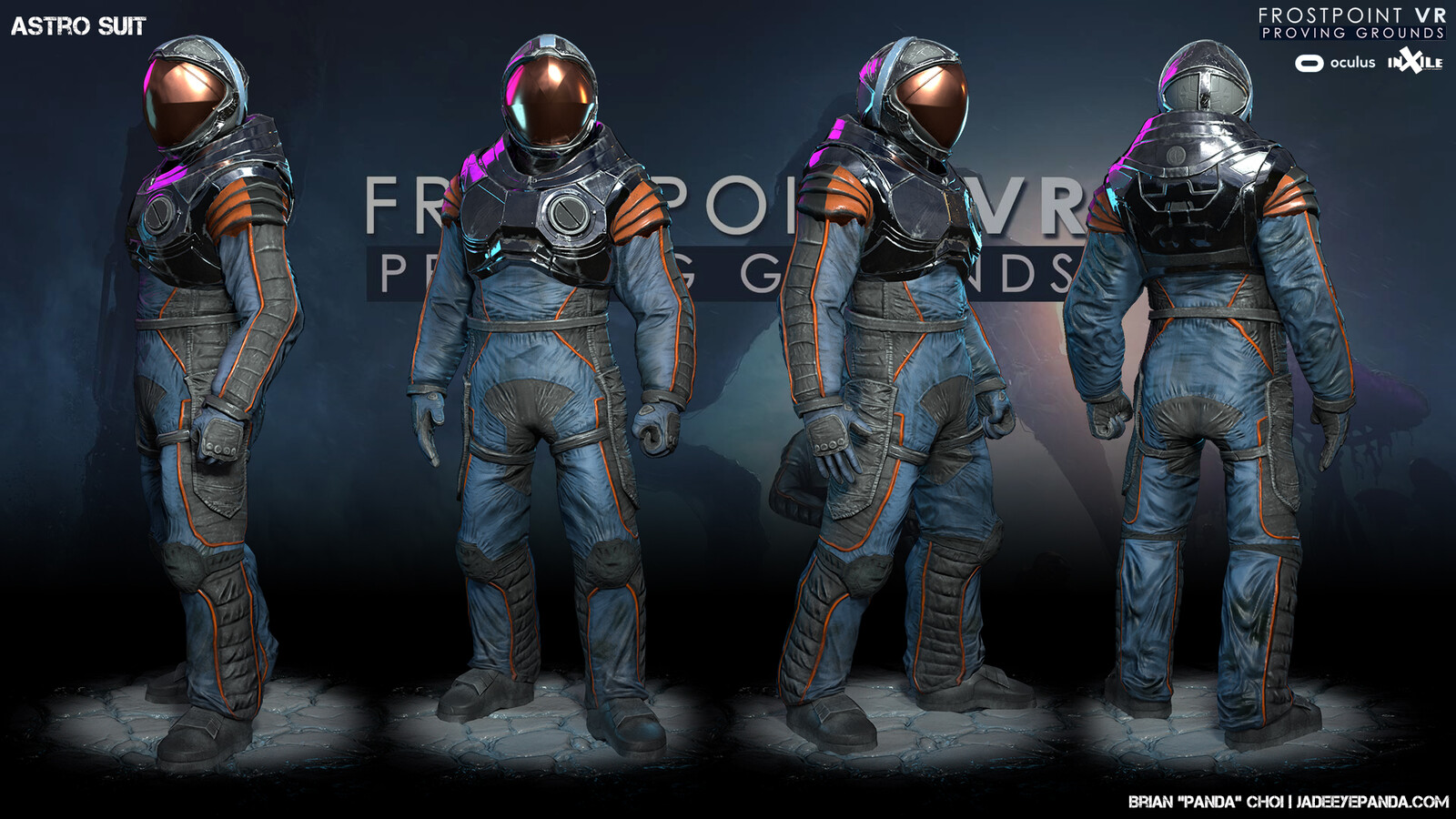 Integration and polish/edits of sculpt, model, and textures by Adam Schuman and me. Original asset by Sergio Santos