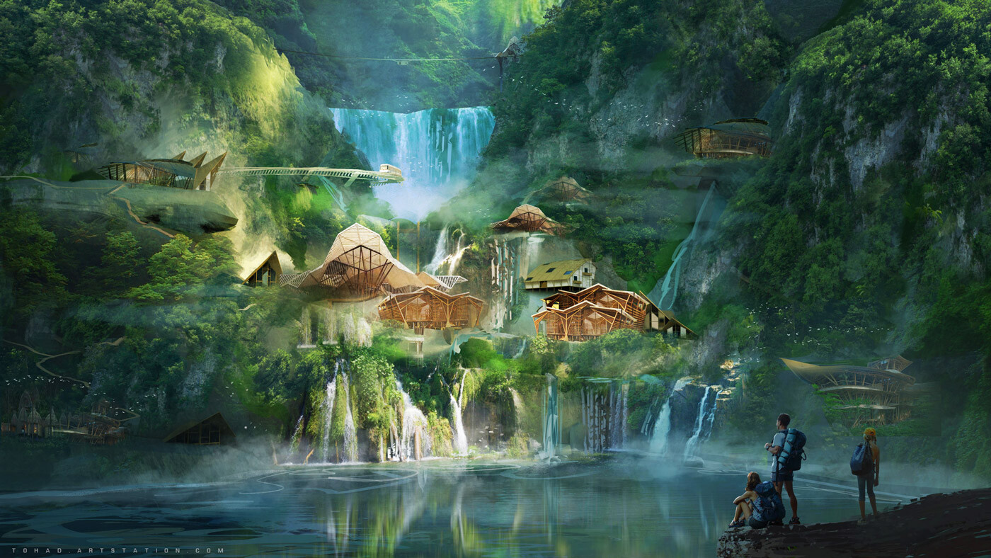 Jurassic World: Camp Cretaceous concept art