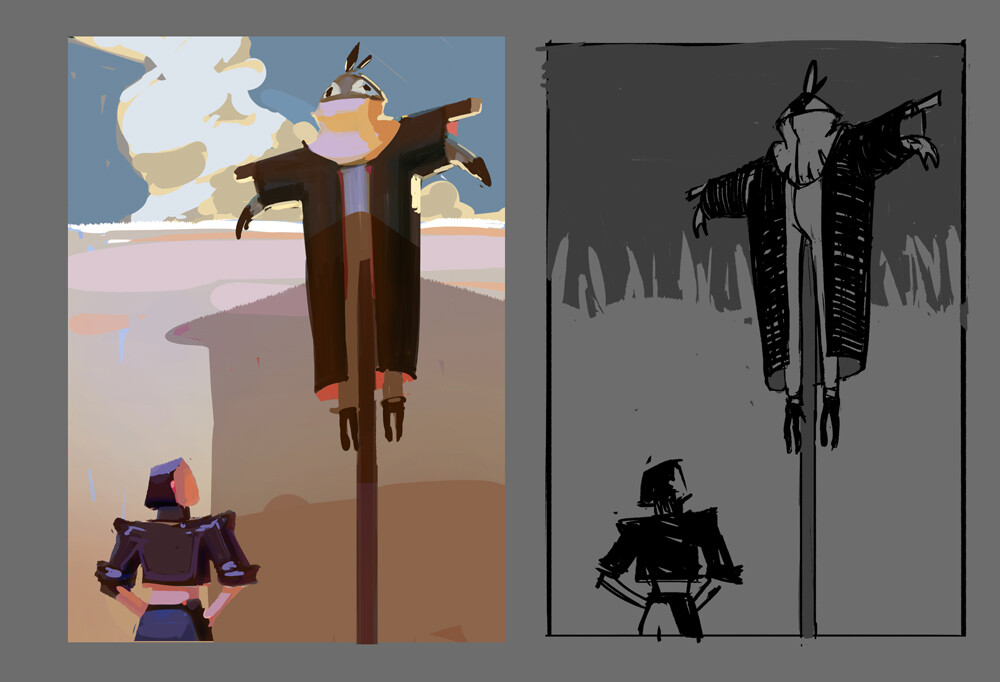 early sketches