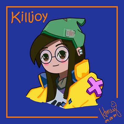 Honey arriola killjoy valorant 01