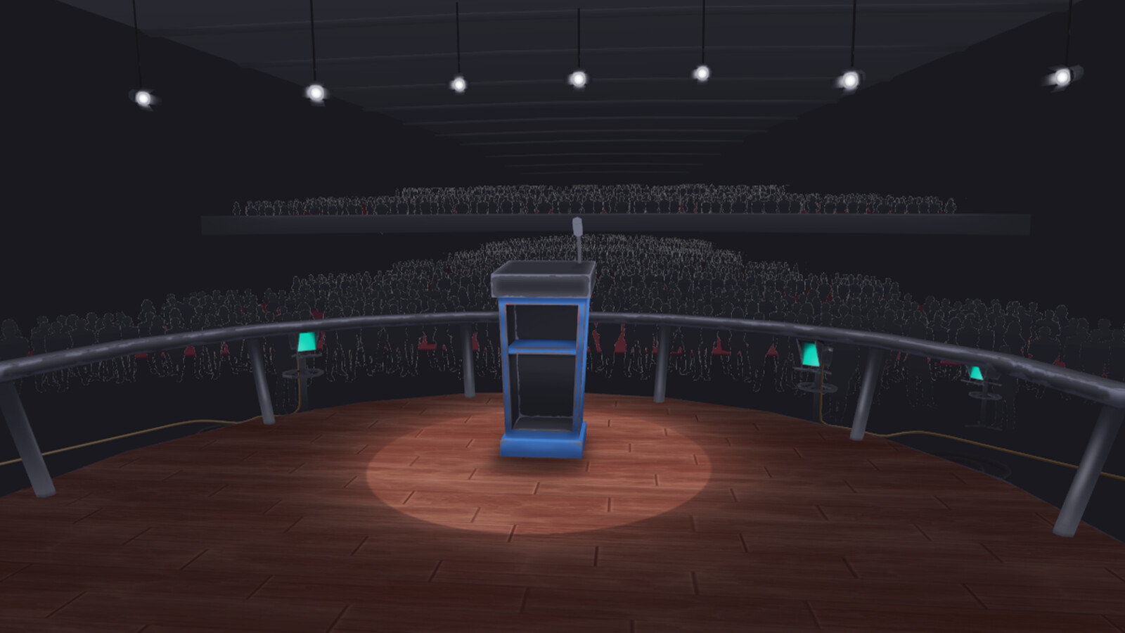 Podium Arena (Blue)
