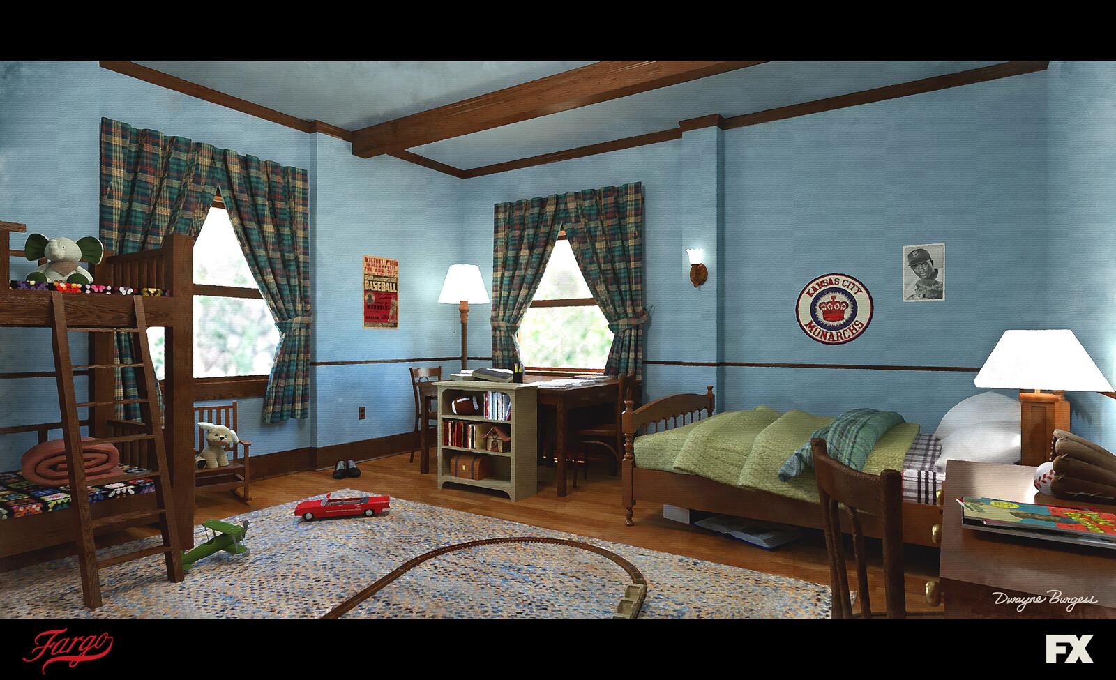 Fargo Season 4 - Canon Kid's Bedroom