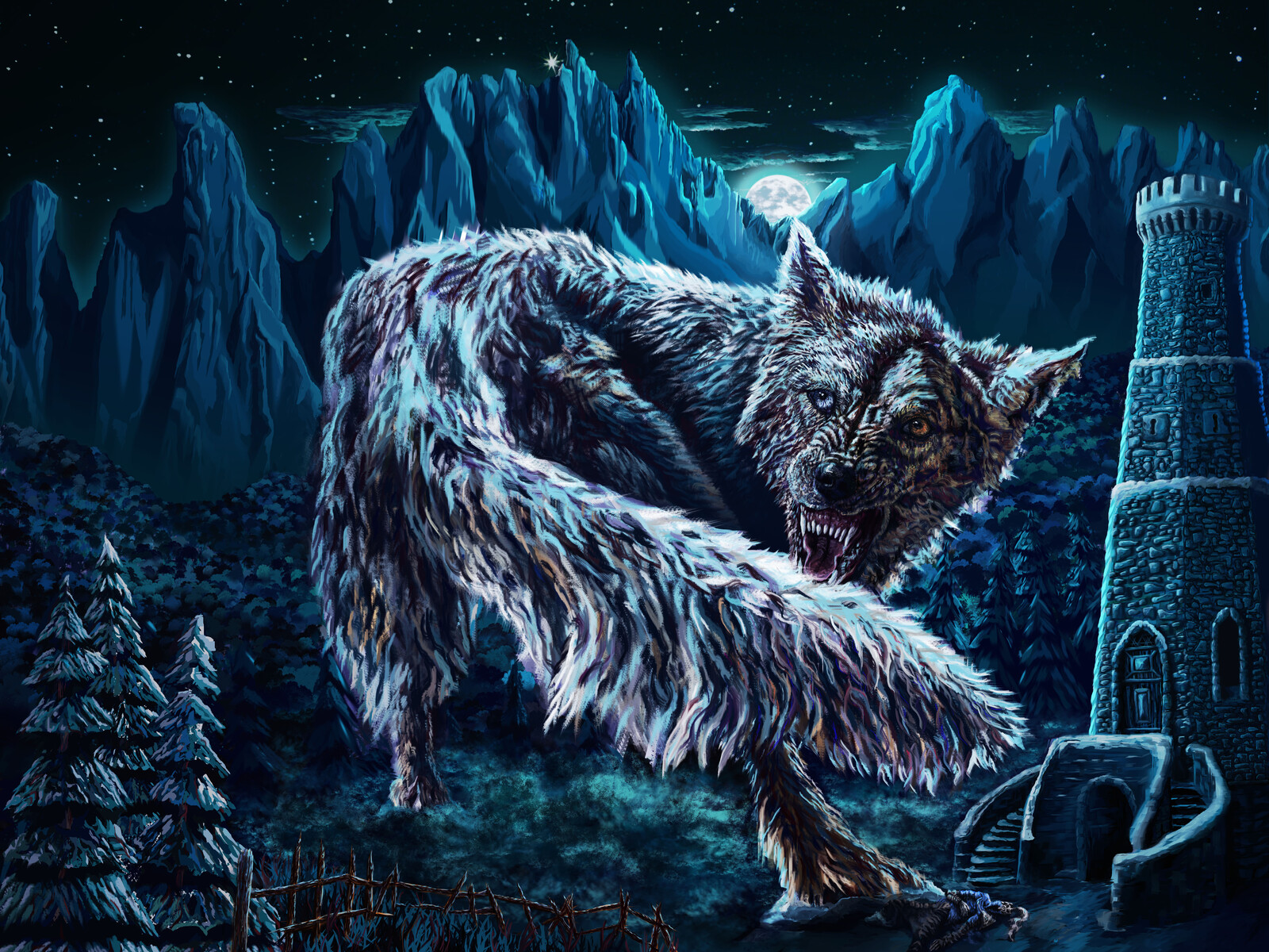 The Great Grey Wolf Sif