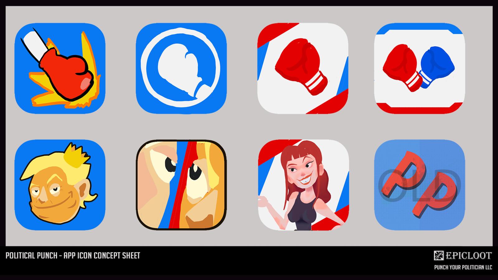 App Icon Concept Sheet