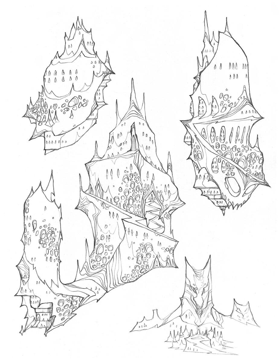 Codename: Empyre - Dual Planets - Dark City Architecture