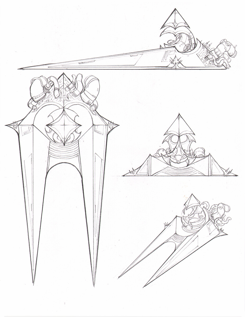 Throne Design - 8.5x11Copy Paper, 2B Lead
