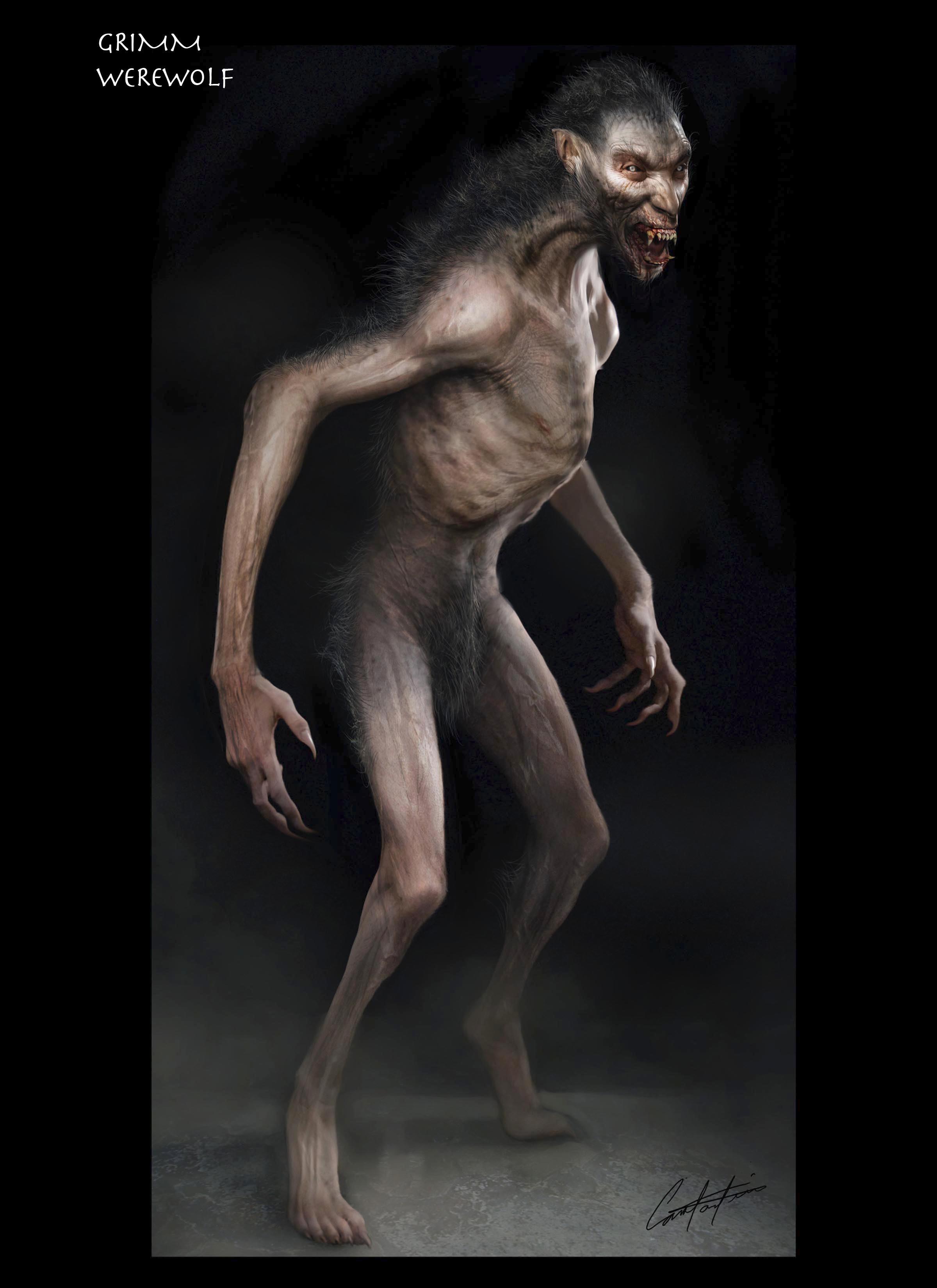 Grimm Werewolf Design