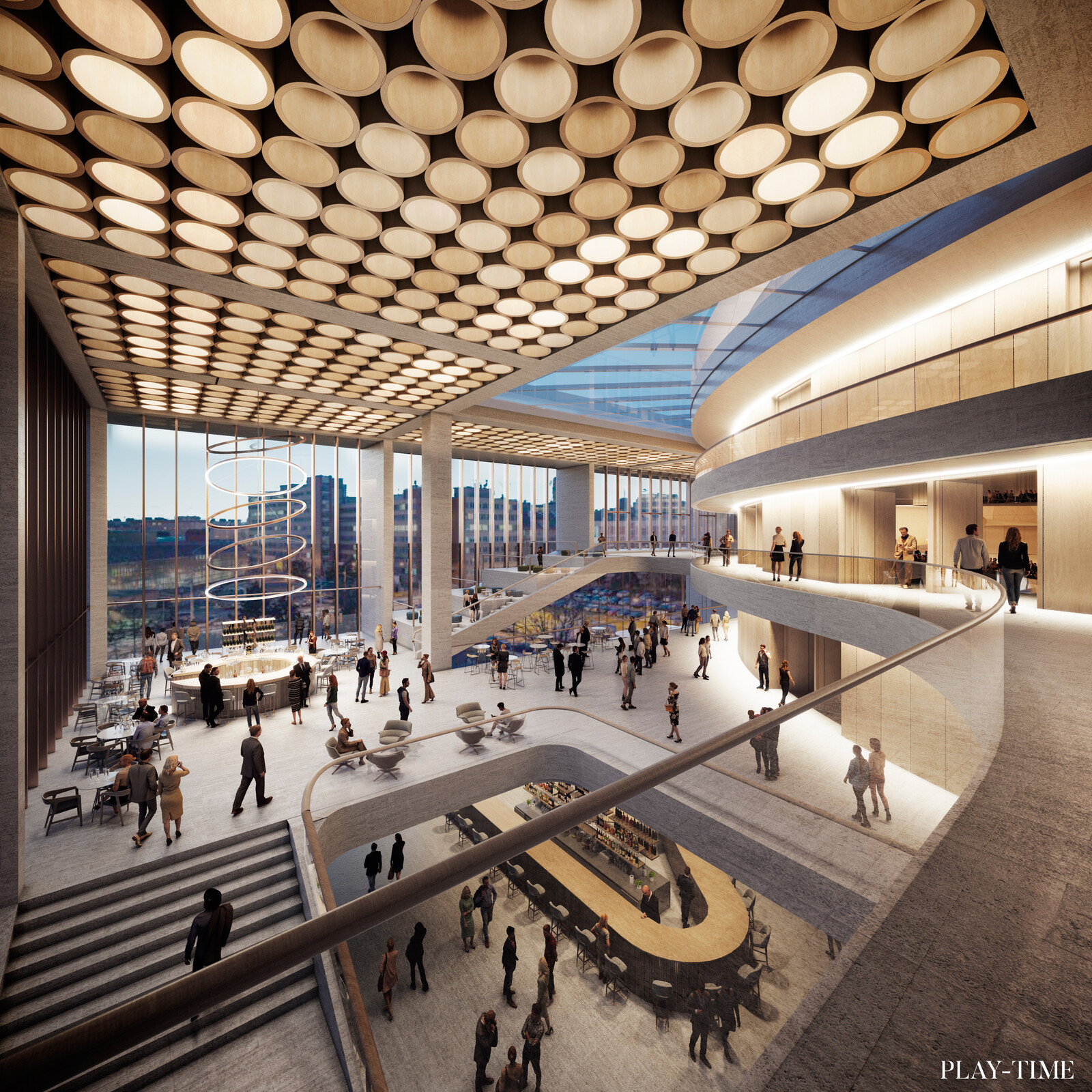 New Istropolis in Bratislava by KCAP + CityFoerster. Images by Play-time