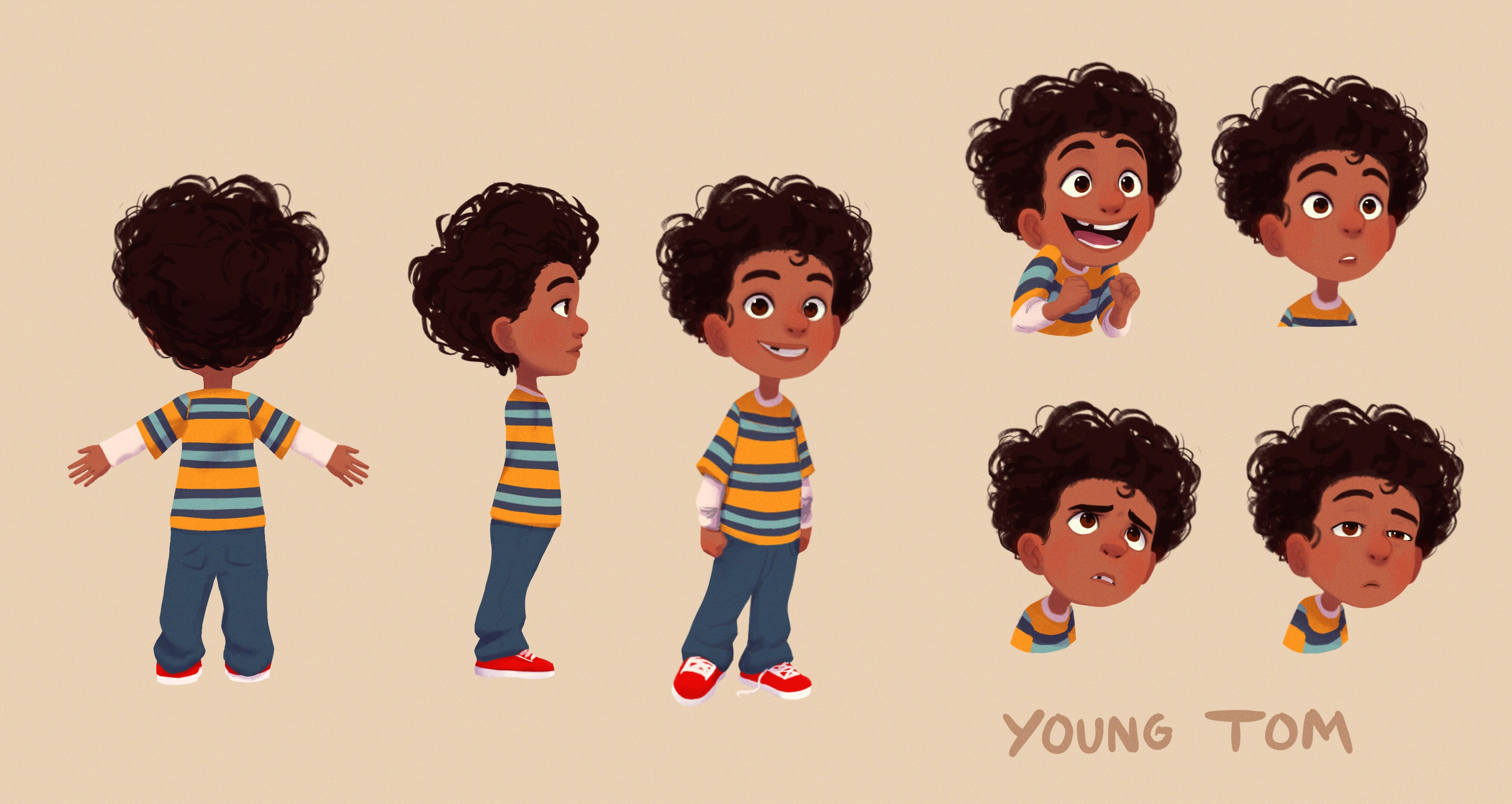 Young Tom Character Sheet