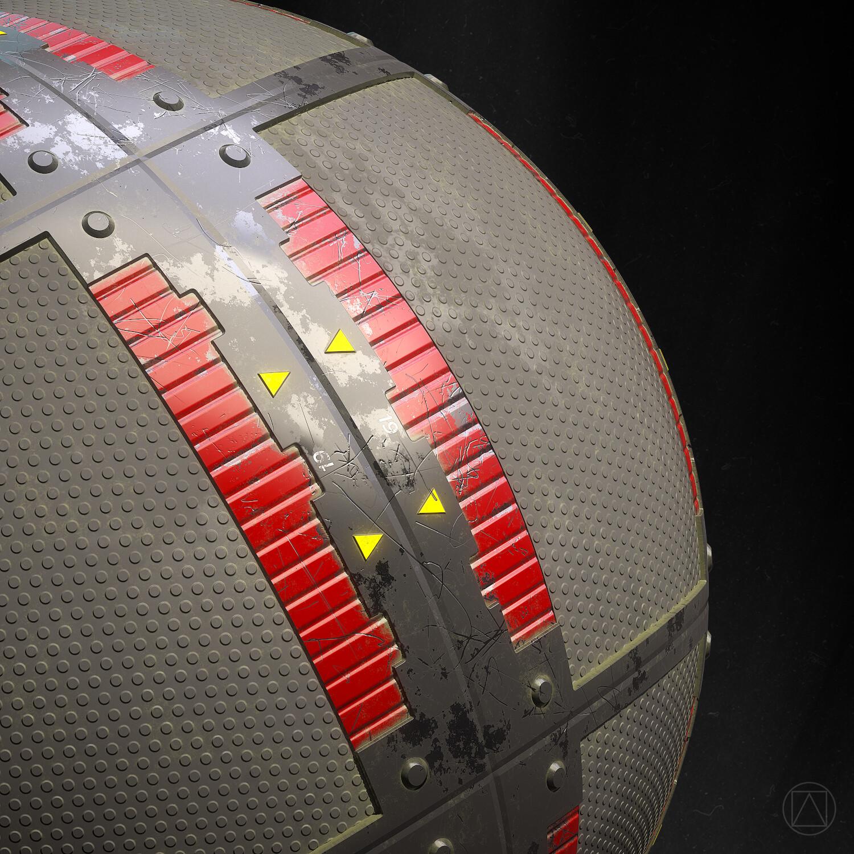 Sphere detail 02.