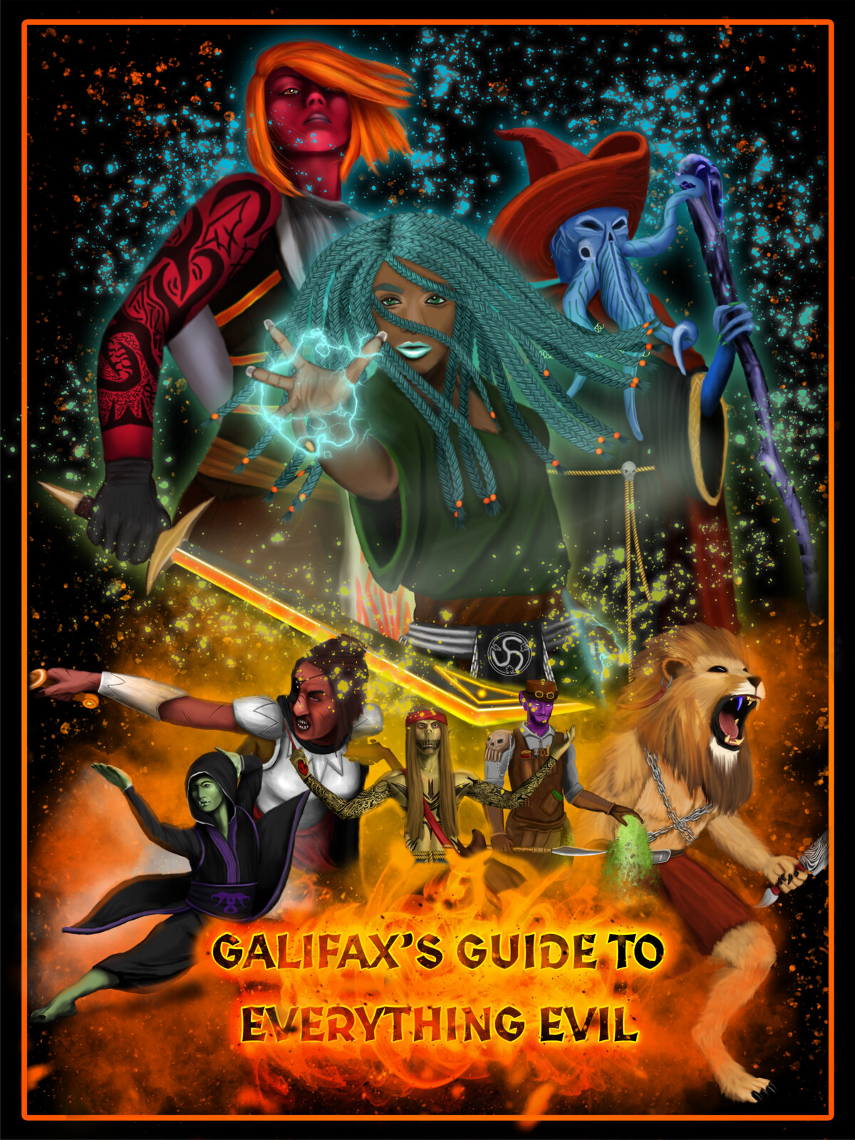 Galfiax's Guide To Everything Evil - Promo Poster