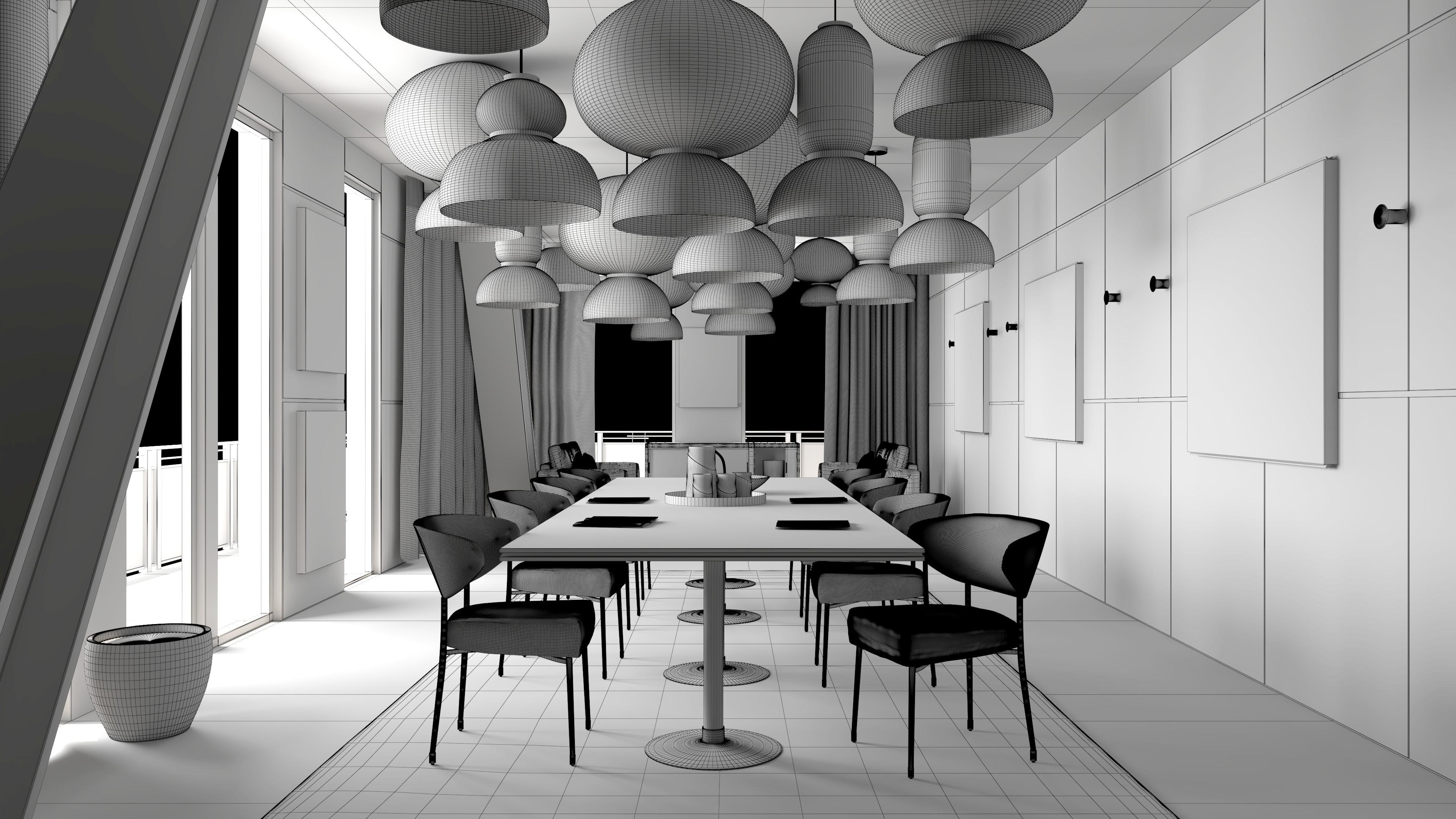 Lantern Office Wireframe