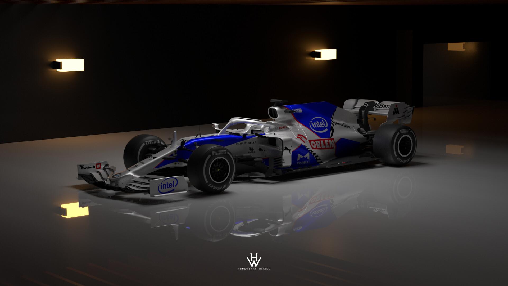 Artstation Bmw Sauber 2021 F1 Livery Design Hongworks Design