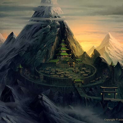 Nele diel mountain settlement