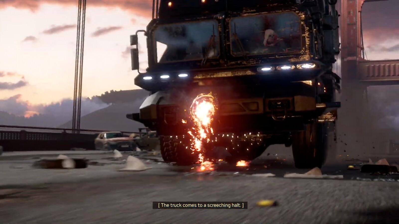 Taskmaster Truck: Modeling / Texturing, Blast Hole Damage State: Modeling / Texturing