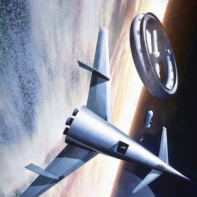 Luca oleastri von braun space station 1952