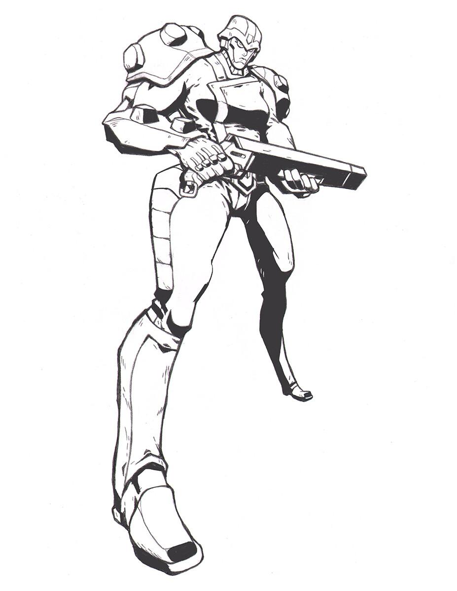 Codename: Empyre - Enforcer Tasker