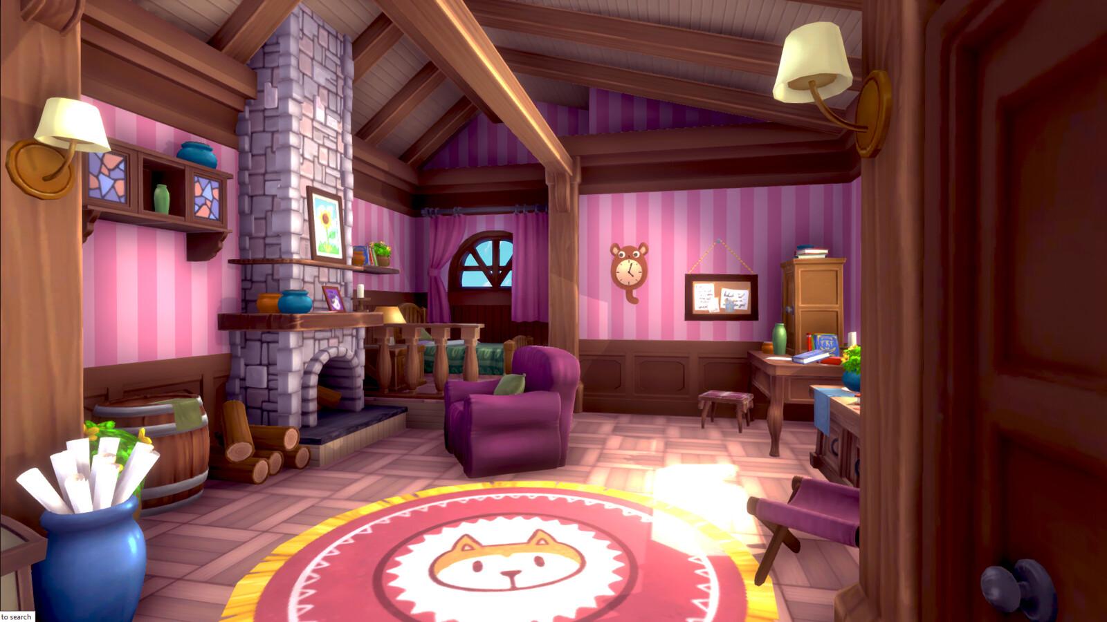 A Cute Room
