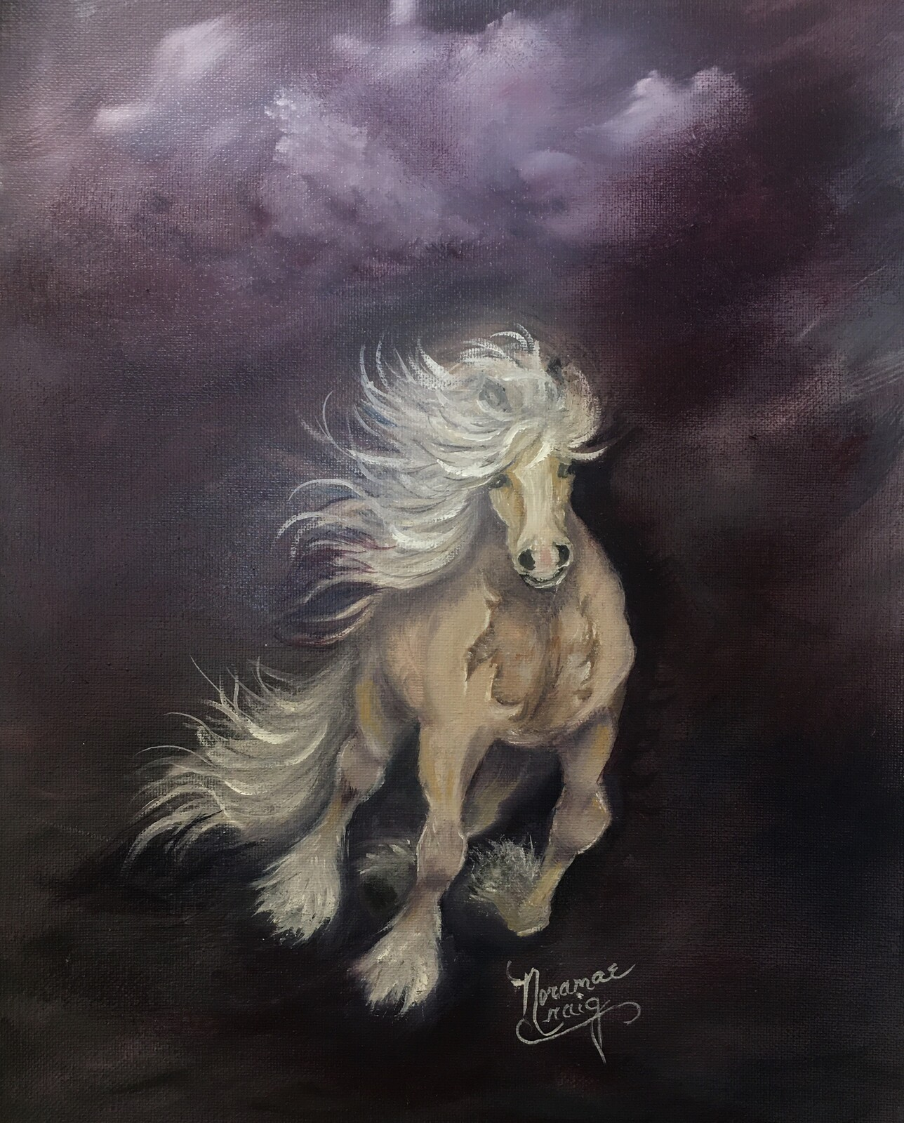 Artstation Fantasy Horse Noramae Craig