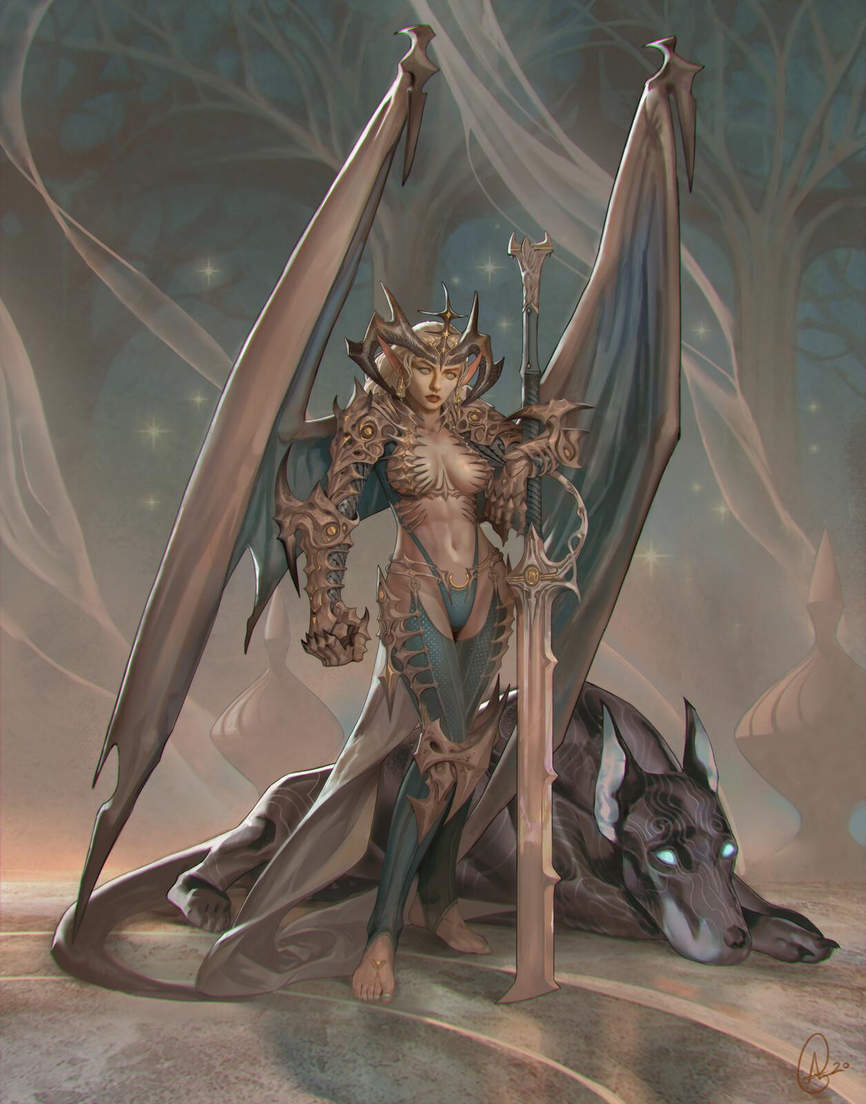 Ikthea Dragonkin - Personal work