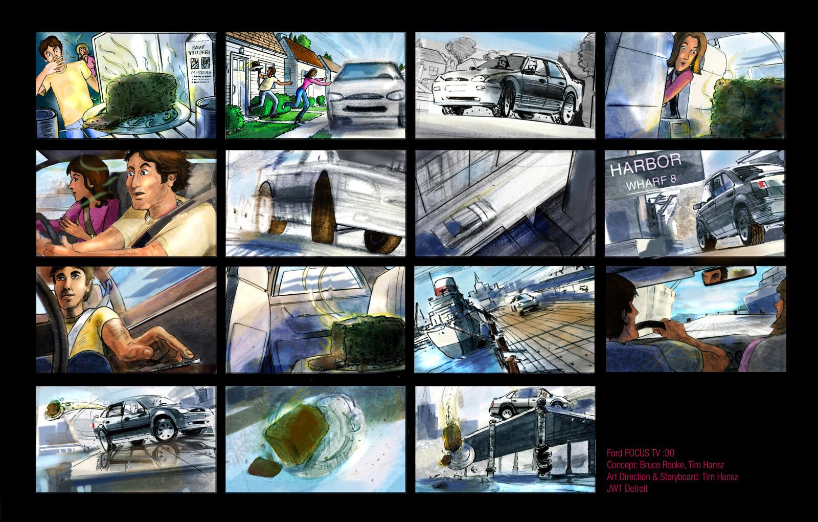 :30 TV Concept Ford. Meat Loaf.