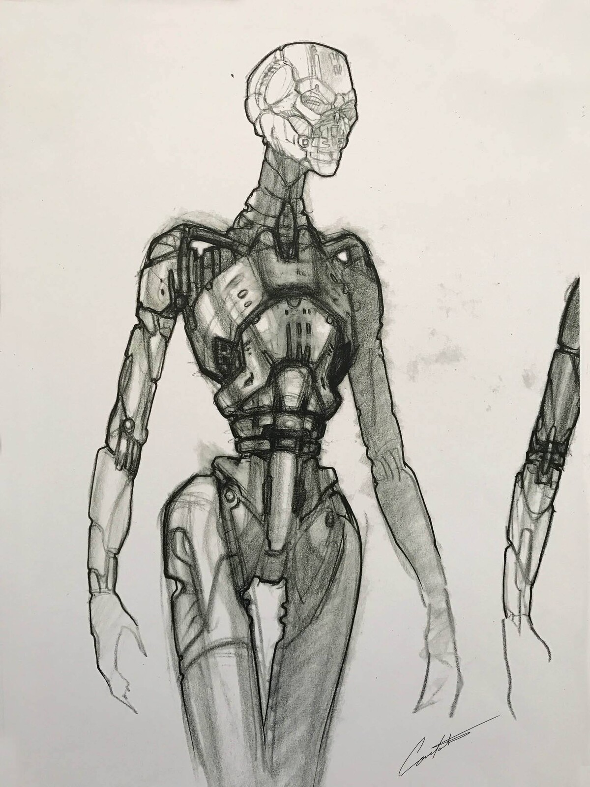 Terminator 3 exploration design sketch