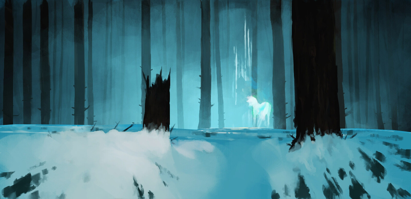 Inktober2019 - Day 7 - Enchanted
