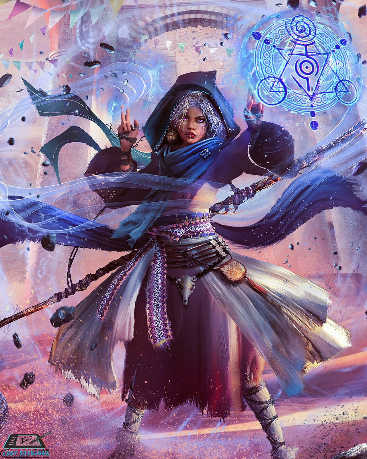 Book cover - Wrath of the Winter Witch II