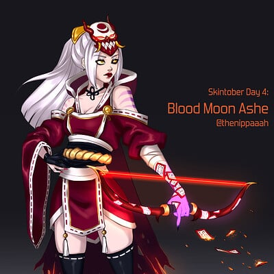 Maria efthymiadou blood moon ashe