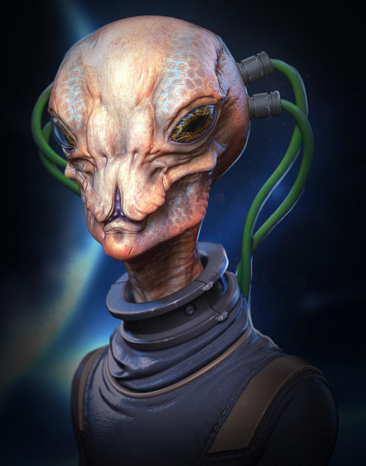 Alien/Creature sculpt