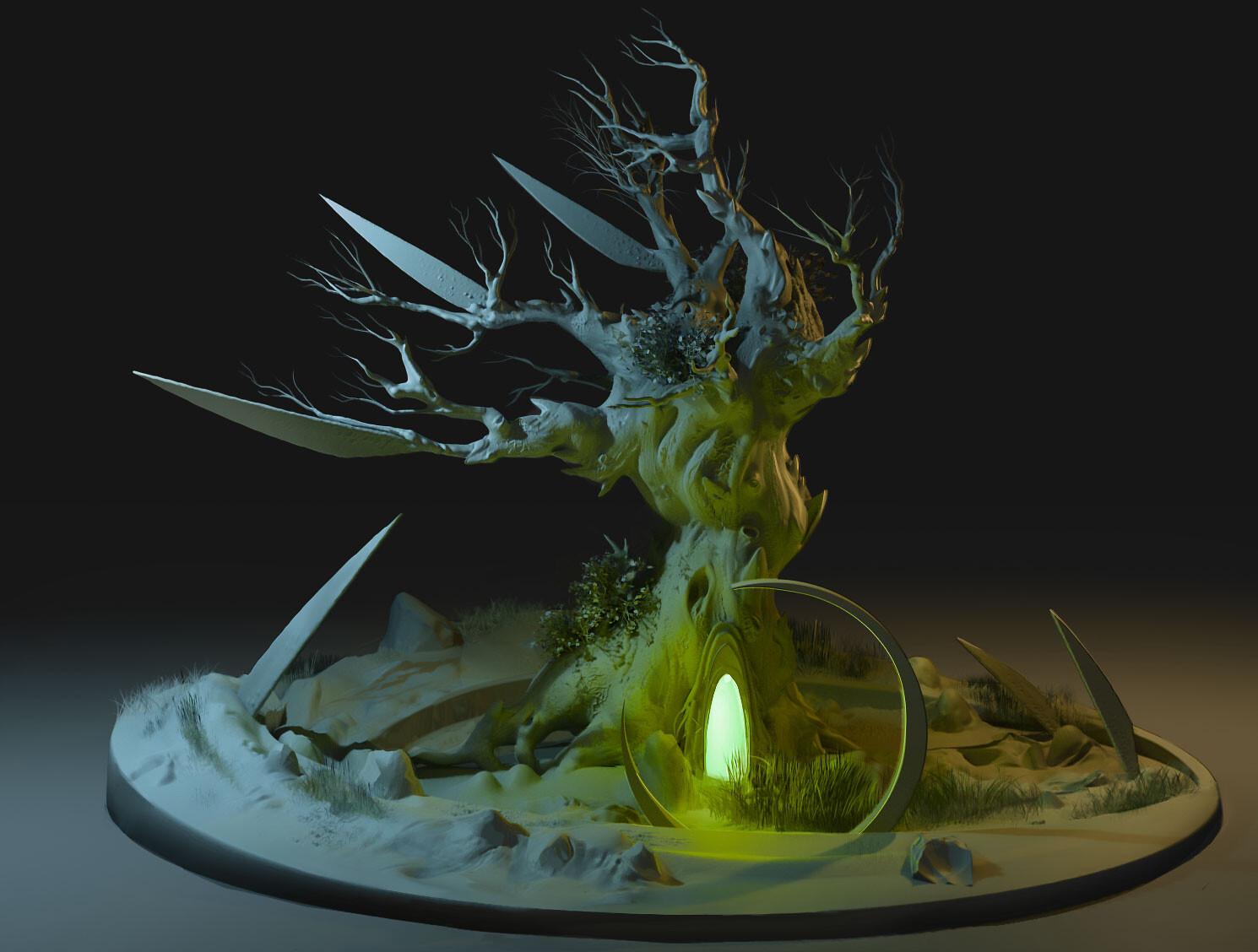 tree sculpt