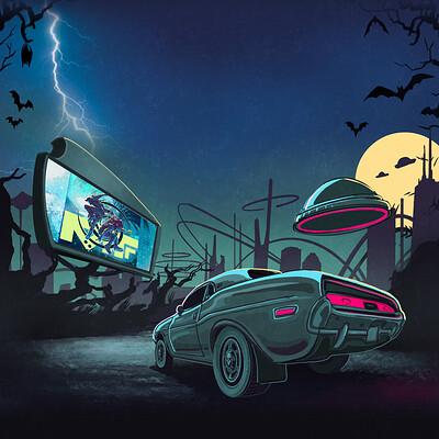 Logan walden mf drive in halloween art 2 clean 2