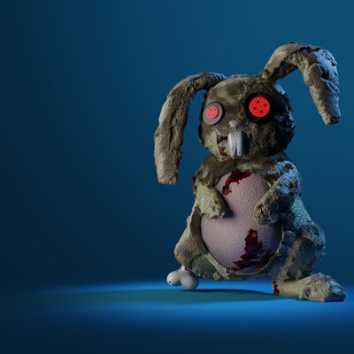 Martin lisen creepy bunny