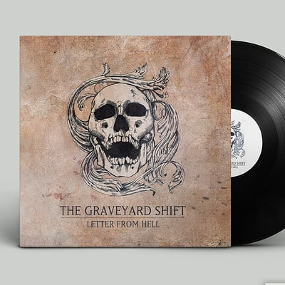 Graveyard Shift - Record Cover