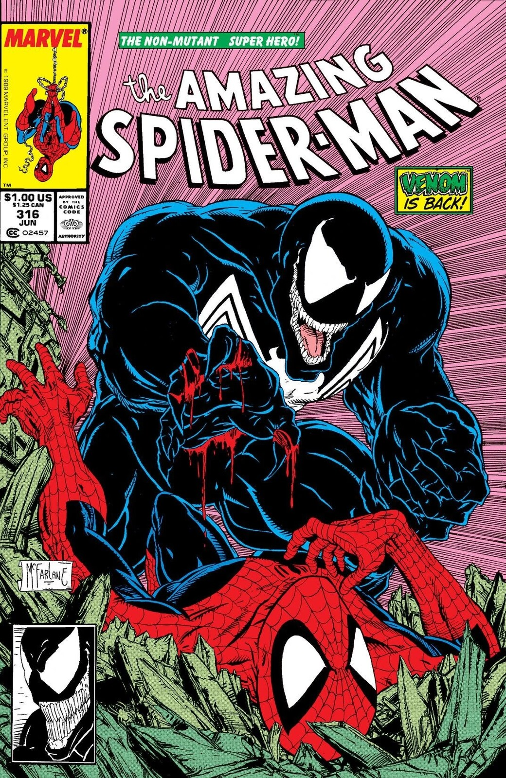 After Todd Mcfarlane's ASM #316