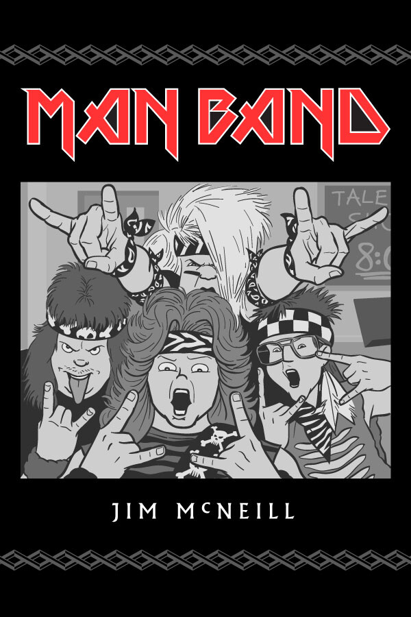 MAN BAND, Chapter One Cover